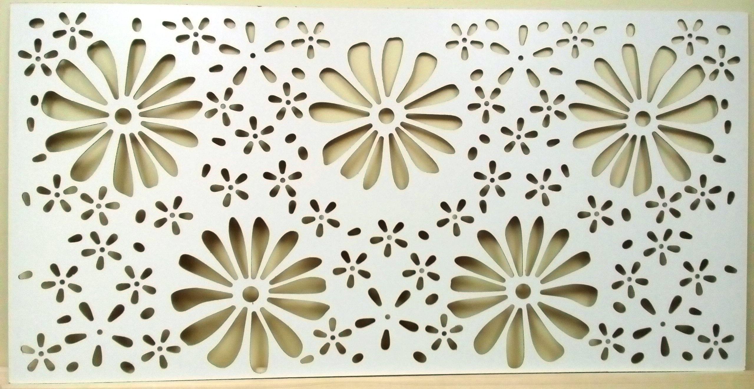 Перфорированные панели для радиаторов Big Flora (большие цветы)